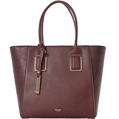 Damazing Winged Shopper Bag - predominant colour: burgundy; occasions: work, creative work; type of pattern: standard; style: tote; length: shoulder (tucks under arm); size: standard; material: faux leather; pattern: plain; finish: plain; season: s/s 2016; wardrobe: highlight