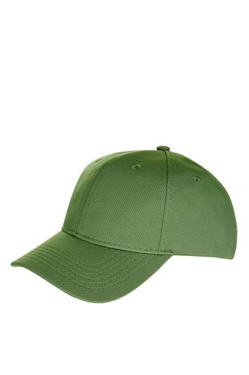 Airtex Peak Structured Cap - predominant colour: khaki; occasions: casual; type of pattern: standard; style: cap; size: standard; material: fabric; pattern: plain; season: s/s 2016; wardrobe: basic