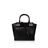 Gleam Team Satchel Lg - predominant colour: black; occasions: casual, work, creative work; type of pattern: standard; style: tote; length: handle; size: standard; material: leather; pattern: plain; finish: plain; wardrobe: investment; season: a/w 2016