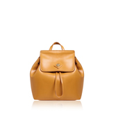 Tavi Backpack Md - predominant colour: mustard; occasions: casual, creative work; type of pattern: standard; style: rucksack; length: rucksack; size: standard; material: leather; pattern: plain; finish: plain; season: a/w 2016