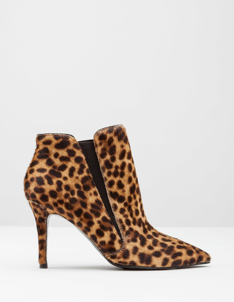 Alice High Heel Boot Tan Leopard Pony Women, Tan Leopard Pony - predominant colour: tan; secondary colour: black; material: animal skin; heel height: high; heel: stiletto; toe: pointed toe; boot length: ankle boot; style: standard; finish: plain; pattern: animal print; occasions: creative work; season: a/w 2016