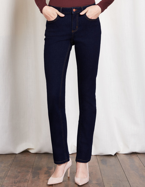 Trafalgar Straight Leg Jeans Indigo Women, Indigo - style: skinny leg; length: standard; pattern: plain; pocket detail: traditional 5 pocket; waist: mid/regular rise; predominant colour: navy; occasions: casual, evening, creative work; fibres: cotton - stretch; jeans detail: dark wash; texture group: denim; pattern type: fabric; wardrobe: basic; season: a/w 2016