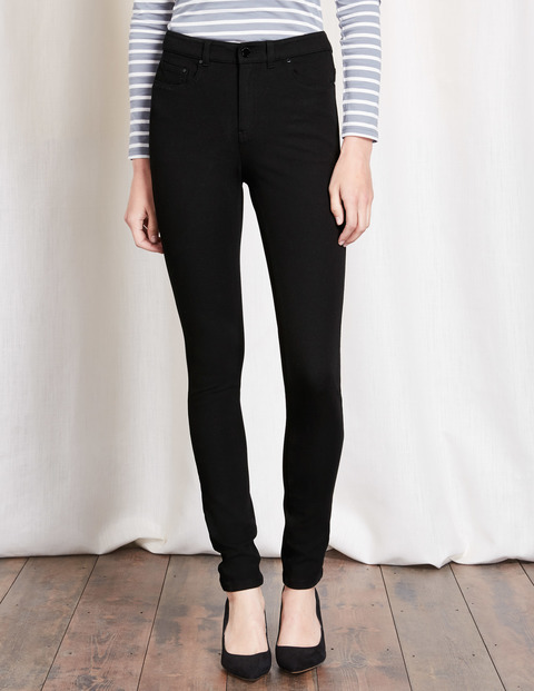 Portobello Bi Stretch Jeans Black Women, Black - style: skinny leg; length: standard; pattern: plain; pocket detail: traditional 5 pocket; waist: mid/regular rise; predominant colour: black; occasions: casual; fibres: cotton - stretch; texture group: denim; pattern type: fabric; wardrobe: basic; season: a/w 2016