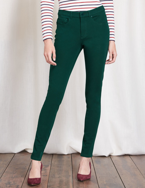 Portobello Bi Stretch Jeans Glade Women, Glade - style: skinny leg; length: standard; pattern: plain; waist: high rise; pocket detail: traditional 5 pocket; predominant colour: dark green; occasions: casual, creative work; fibres: cotton - stretch; texture group: denim; pattern type: fabric; season: a/w 2016; wardrobe: highlight