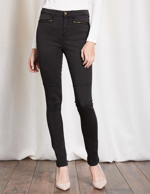 Brighton Biker Skinny Jean Washed Black Women, Washed Black - style: skinny leg; length: standard; pattern: plain; waist: high rise; pocket detail: traditional 5 pocket; predominant colour: black; occasions: casual, evening, creative work; fibres: cotton - stretch; texture group: denim; pattern type: fabric; wardrobe: basic; season: a/w 2016