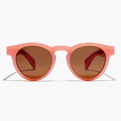 Jane Sunglasses - predominant colour: pink; occasions: casual, holiday; style: cateye; size: standard; material: plastic/rubber; pattern: plain; finish: plain; season: a/w 2016; wardrobe: highlight