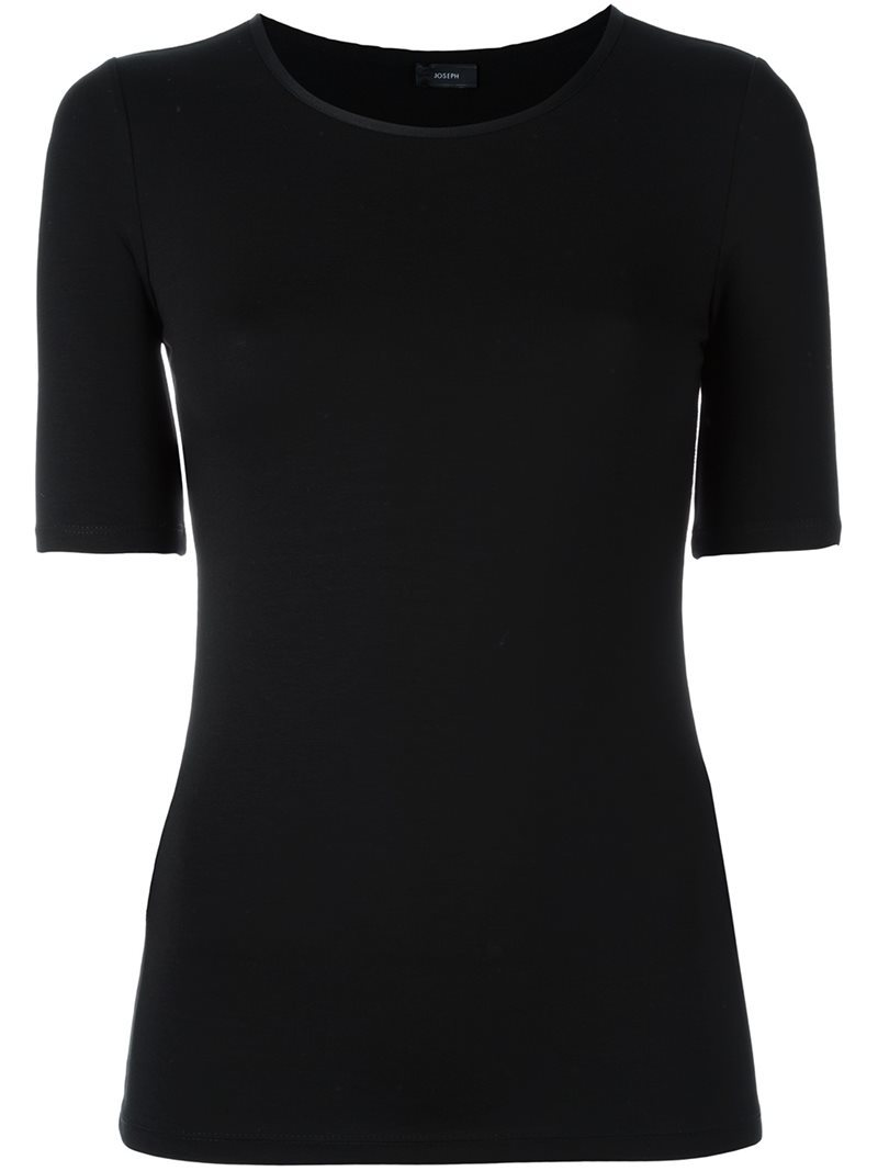 Basic T Shirt, Women's, Size: Small, Black - pattern: plain; style: t-shirt; predominant colour: black; occasions: casual; length: standard; fibres: cotton - 100%; fit: body skimming; neckline: crew; sleeve length: half sleeve; sleeve style: standard; pattern type: fabric; texture group: jersey - stretchy/drapey; wardrobe: basic; season: a/w 2016