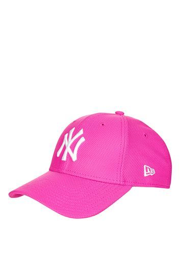 Diamond 9 Forty Cap By New Era - predominant colour: pink; occasions: casual; type of pattern: standard; style: cap; size: standard; material: fabric; pattern: plain; season: a/w 2016; wardrobe: highlight