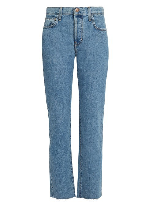 The Original Straight Leg Jeans - style: straight leg; length: standard; pattern: plain; pocket detail: traditional 5 pocket; waist: mid/regular rise; predominant colour: denim; occasions: casual; fibres: cotton - 100%; texture group: denim; pattern type: fabric; wardrobe: basic; season: a/w 2016