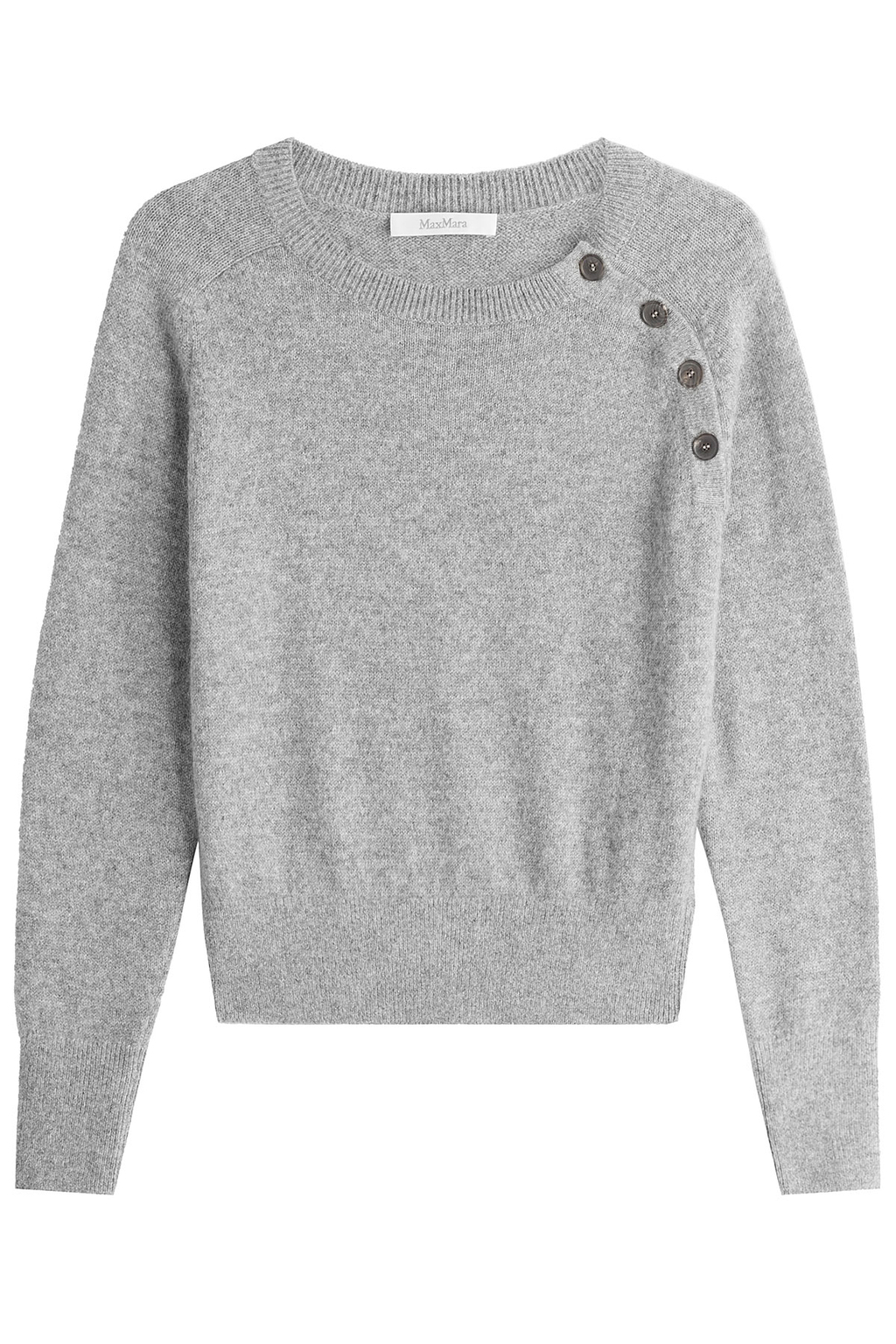 Alpaca Pullover Grey - pattern: plain; style: standard; predominant colour: light grey; occasions: casual; length: standard; fibres: wool - 100%; fit: slim fit; neckline: crew; sleeve length: long sleeve; sleeve style: standard; texture group: knits/crochet; pattern type: knitted - fine stitch; wardrobe: basic; season: a/w 2016