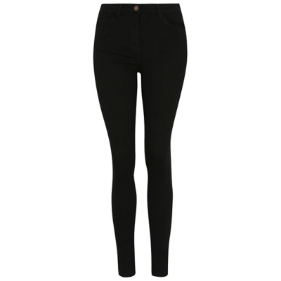Wonderform Skinny Jeans Black - style: skinny leg; length: standard; pattern: plain; pocket detail: traditional 5 pocket; waist: mid/regular rise; predominant colour: black; occasions: casual; fibres: cotton - stretch; texture group: denim; pattern type: fabric; wardrobe: basic; season: a/w 2016