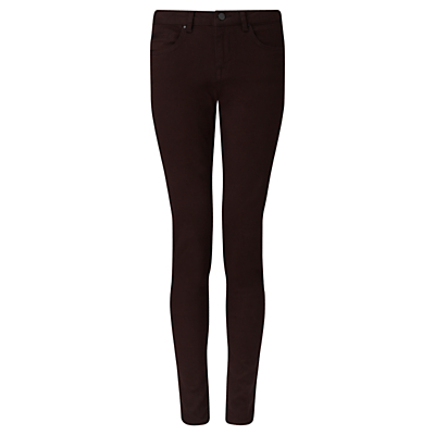 "Richmond 30"" Skinny Jeans - style: skinny leg; length: standard; pattern: plain; pocket detail: traditional 5 pocket; waist: mid/regular rise; predominant colour: black; occasions: casual, creative work; fibres: cotton - stretch; jeans detail: dark wash; texture group: jersey - clingy; pattern type: fabric; pattern size: standard (bottom); season: s/s 2016; wardrobe: highlight"