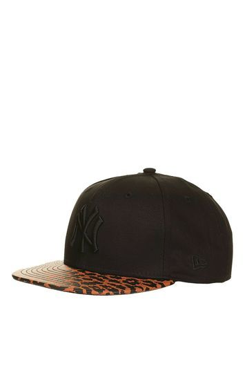Snap Back Cap By New Era - secondary colour: tan; predominant colour: black; occasions: casual; type of pattern: light; style: cap; size: standard; material: fabric; pattern: plain; wardrobe: basic; season: a/w 2016