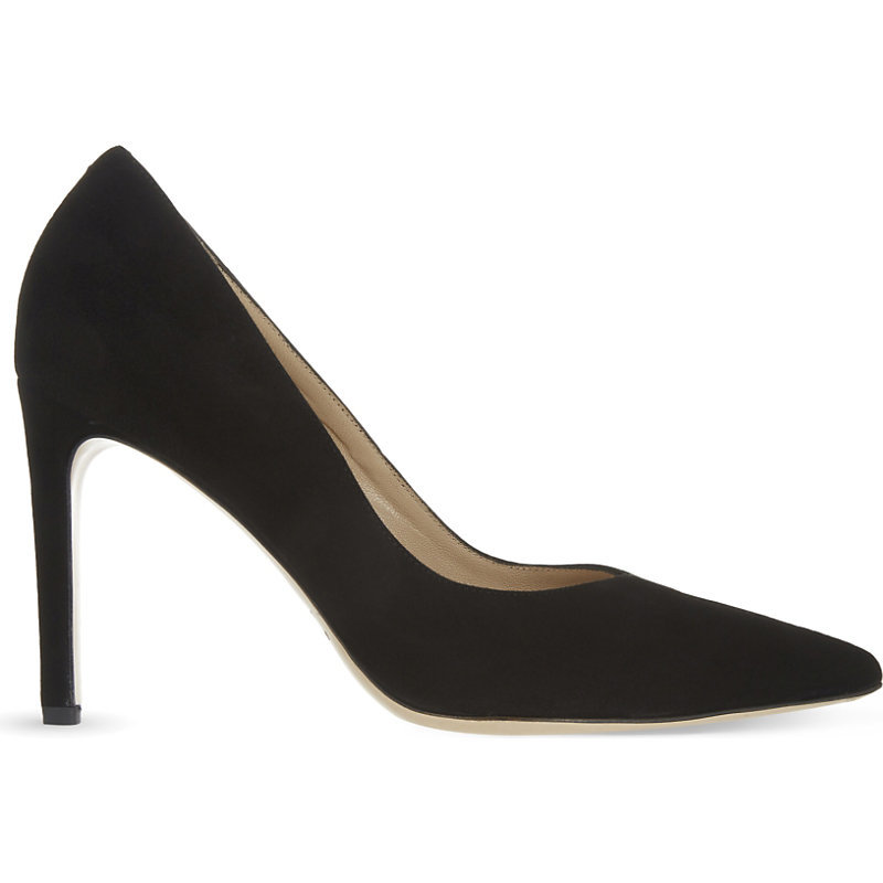 Daphnée Suede Courts, Women's, Eur 36 / 3 Uk Women, Noir - predominant colour: black; occasions: evening; material: suede; heel height: high; heel: stiletto; toe: pointed toe; style: courts; finish: plain; pattern: plain; season: a/w 2016; wardrobe: event