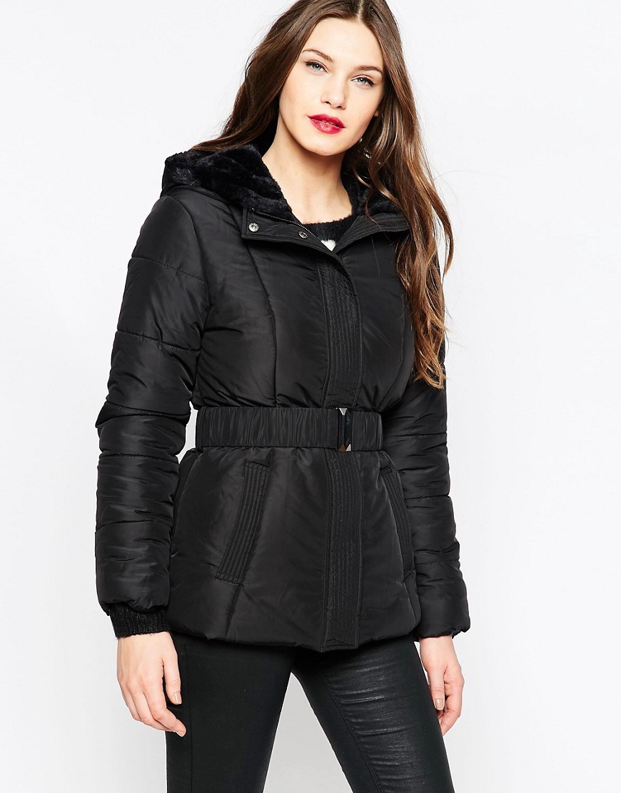 Whistler Hooded Jacket Black - pattern: plain; style: belted jacket; collar: funnel; predominant colour: black; occasions: casual; length: standard; fit: tailored/fitted; fibres: polyester/polyamide - 100%; waist detail: belted waist/tie at waist/drawstring; sleeve length: long sleeve; sleeve style: standard; texture group: technical outdoor fabrics; collar break: high; pattern type: fabric; wardrobe: basic; season: a/w 2016