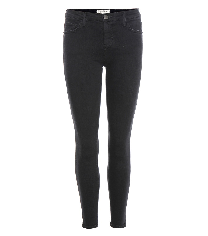 The Stiletto Skinny Jeans - style: skinny leg; length: standard; pattern: plain; pocket detail: traditional 5 pocket; waist: mid/regular rise; predominant colour: black; occasions: casual; fibres: cotton - stretch; texture group: denim; pattern type: fabric; wardrobe: basic; season: a/w 2016
