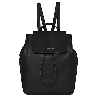 Nina Backpack, Black - predominant colour: black; occasions: casual; type of pattern: standard; style: rucksack; length: rucksack; size: standard; material: leather; pattern: plain; finish: plain; wardrobe: basic; season: a/w 2016