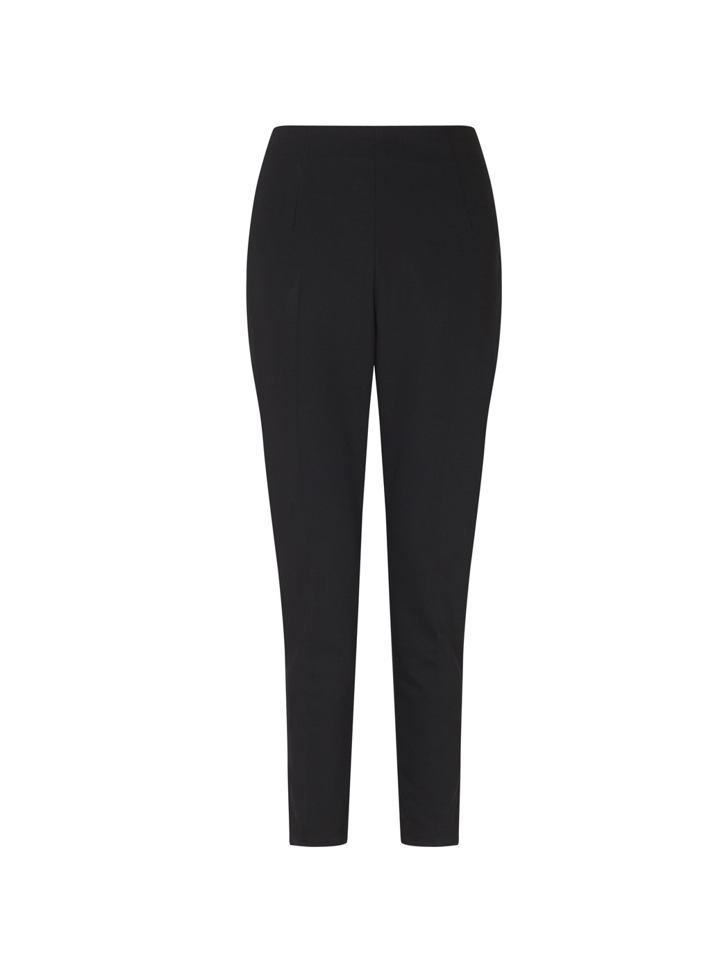Womenswear Ashcroft Slim Line Pants - pattern: plain; waist: mid/regular rise; predominant colour: black; occasions: evening, work, creative work; length: ankle length; fibres: polyester/polyamide - stretch; fit: slim leg; pattern type: fabric; texture group: woven light midweight; style: standard; pattern size: standard (bottom); wardrobe: basic; season: a/w 2016