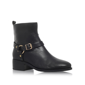 Petro - predominant colour: black; occasions: casual, creative work; material: leather; heel height: flat; heel: standard; toe: round toe; boot length: ankle boot; style: standard; finish: plain; pattern: plain; season: a/w 2016