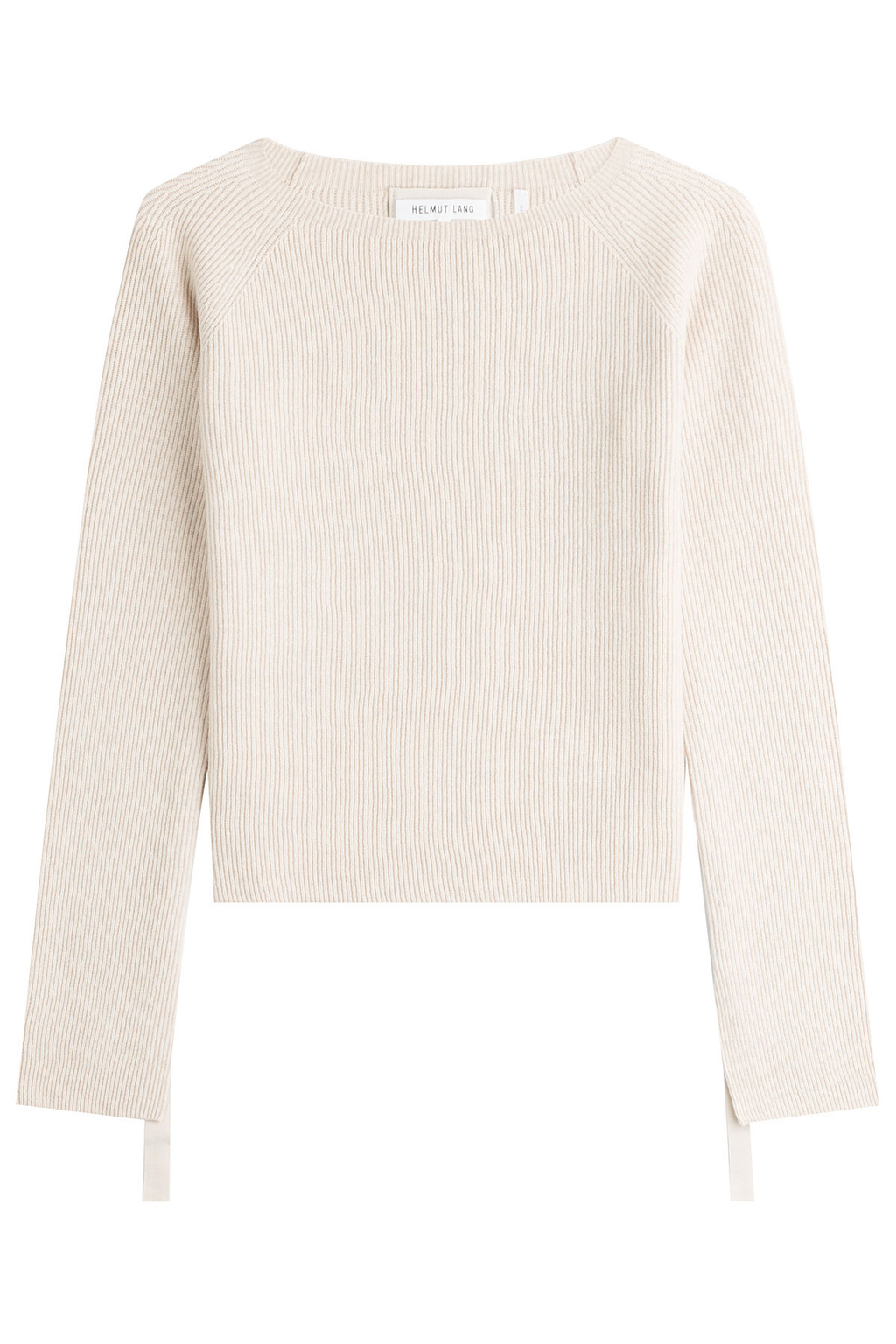 Wool Pullover With Cashmere - pattern: plain; style: standard; predominant colour: light grey; occasions: casual; length: standard; fibres: wool - 100%; fit: standard fit; neckline: crew; sleeve length: long sleeve; sleeve style: standard; texture group: knits/crochet; pattern type: knitted - fine stitch; wardrobe: basic; season: a/w 2016