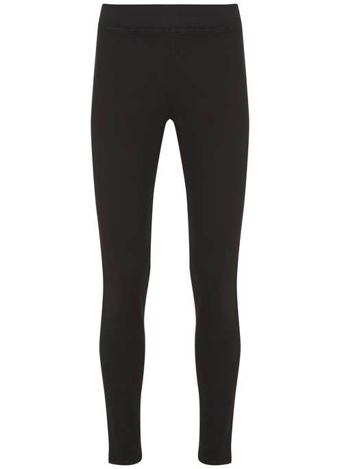 Lexington Black Jegging - pattern: plain; waist: mid/regular rise; predominant colour: black; occasions: casual; length: ankle length; fibres: cotton - stretch; texture group: denim; fit: skinny/tight leg; pattern type: fabric; style: standard; wardrobe: basic; season: a/w 2016