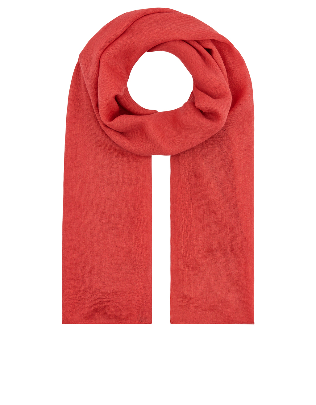 Ombre Wool Scarf - predominant colour: bright orange; occasions: casual; type of pattern: standard; style: regular; size: standard; material: fabric; pattern: plain; season: a/w 2016; wardrobe: highlight