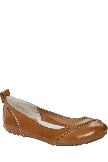 Tall Janessa Ballerina At Long Tall Sally - predominant colour: tan; occasions: casual; material: leather; heel height: flat; toe: round toe; style: ballerinas / pumps; finish: patent; pattern: plain; season: a/w 2016; wardrobe: highlight