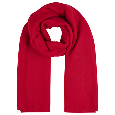 Cashmere Wrap - predominant colour: true red; occasions: casual, creative work; type of pattern: standard; style: regular; size: standard; pattern: plain; material: cashmere; season: a/w 2016; wardrobe: highlight