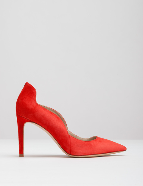 Wave High Court Beatnik Red Suede Women, Beatnik Red Suede - predominant colour: true red; occasions: evening; material: suede; heel: stiletto; toe: pointed toe; style: courts; finish: plain; pattern: plain; heel height: very high; season: a/w 2016