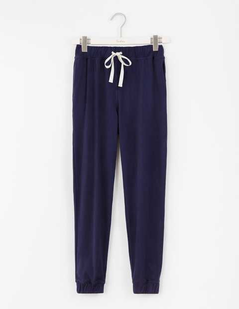Off Duty Drapey Jogger Navy Women, Navy - length: standard; pattern: plain; style: tracksuit pants; waist detail: belted waist/tie at waist/drawstring; waist: mid/regular rise; predominant colour: navy; fibres: cotton - stretch; fit: tapered; pattern type: fabric; texture group: jersey - stretchy/drapey; occasions: activity; season: a/w 2016