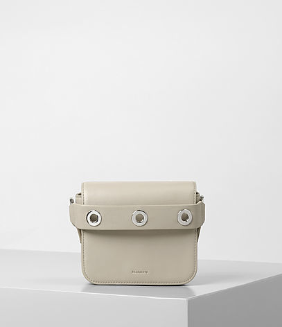 Ikuya Small Clutch - predominant colour: ivory/cream; occasions: casual; type of pattern: standard; style: clutch; length: hand carry; size: small; material: leather; pattern: plain; finish: plain; wardrobe: investment; season: a/w 2016