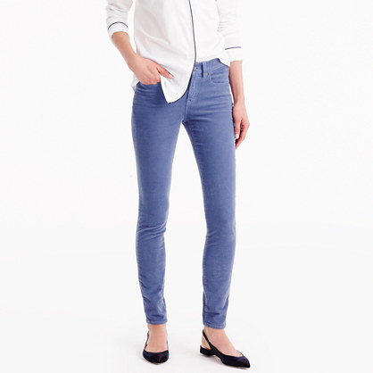 Petite Toothpick Cord - length: standard; pattern: plain; waist: mid/regular rise; predominant colour: denim; occasions: casual; fibres: cotton - 100%; texture group: corduroy; fit: skinny/tight leg; pattern type: fabric; style: standard; season: a/w 2016; wardrobe: highlight
