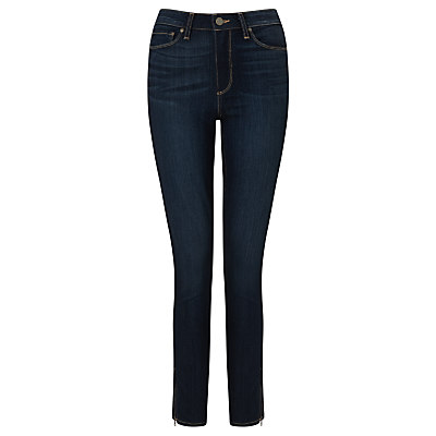 Hoxton Ankle Zip Skinny Jeans, Seneca - style: skinny leg; length: standard; pattern: plain; pocket detail: traditional 5 pocket; waist: mid/regular rise; predominant colour: navy; occasions: casual; fibres: viscose/rayon - stretch; texture group: denim; pattern type: fabric; wardrobe: basic; season: a/w 2016