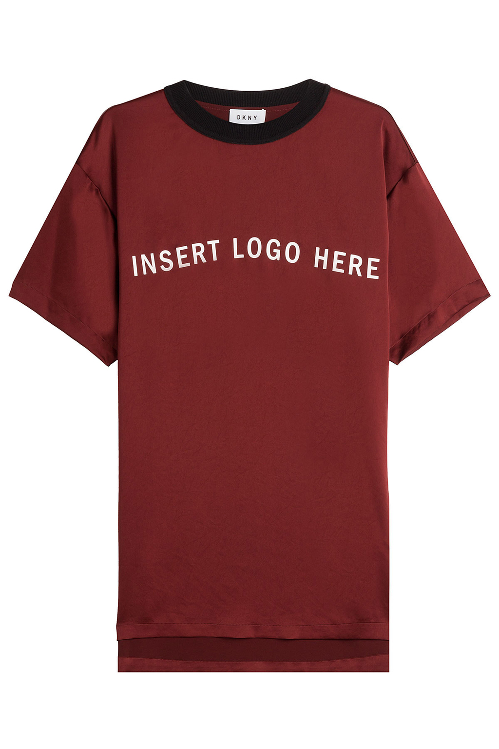 Lettered T Shirt - style: t-shirt; secondary colour: white; predominant colour: burgundy; occasions: casual; length: standard; fit: body skimming; neckline: crew; sleeve length: short sleeve; sleeve style: standard; pattern type: fabric; texture group: jersey - stretchy/drapey; fibres: viscose/rayon - mix; pattern: graphic/slogan; multicoloured: multicoloured; season: a/w 2016; wardrobe: highlight