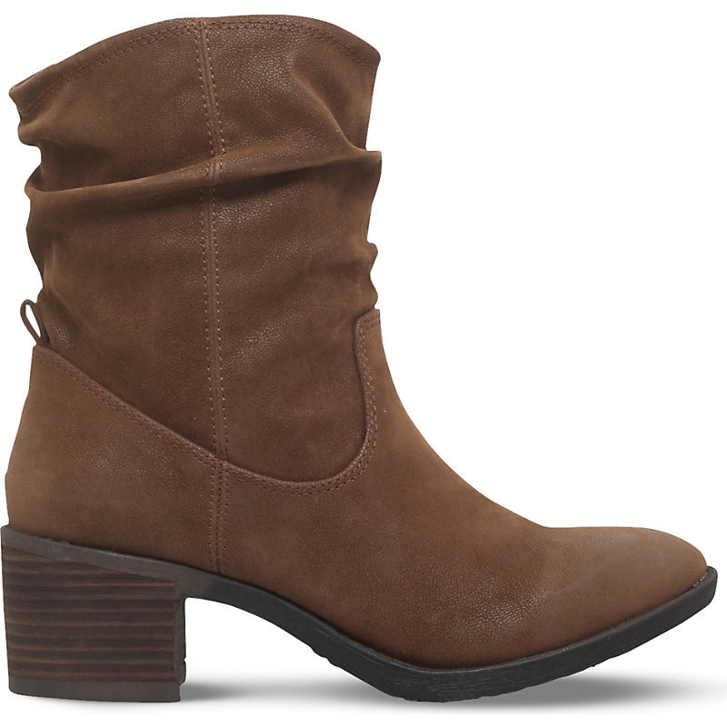 Travis Ankle Boots, Women's, Eur 40 / 7 Uk Women, Grey - predominant colour: chocolate brown; occasions: casual, creative work; material: suede; heel height: mid; heel: block; toe: round toe; boot length: ankle boot; style: standard; finish: plain; pattern: plain; wardrobe: basic; season: a/w 2016