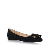 Simily - predominant colour: black; occasions: casual, work, creative work; material: suede; heel height: flat; embellishment: tassels; toe: round toe; style: ballerinas / pumps; finish: plain; pattern: plain; wardrobe: basic; season: a/w 2016