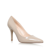 Flagship - predominant colour: stone; occasions: evening, occasion, creative work; material: leather; heel height: high; heel: stiletto; toe: pointed toe; style: courts; finish: plain; pattern: plain; wardrobe: investment; season: a/w 2016