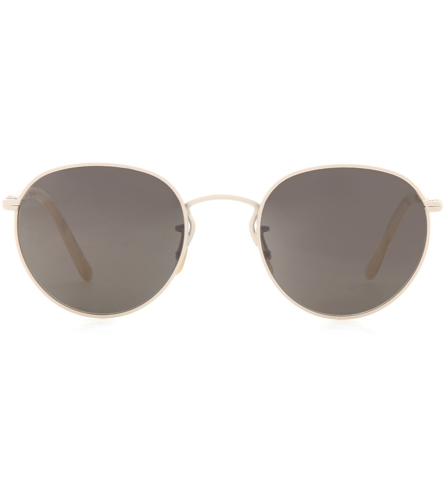 Hassett Sunglasses - predominant colour: gold; occasions: casual, holiday; style: aviator; size: standard; material: chain/metal; pattern: plain; finish: metallic; wardrobe: basic; season: a/w 2016