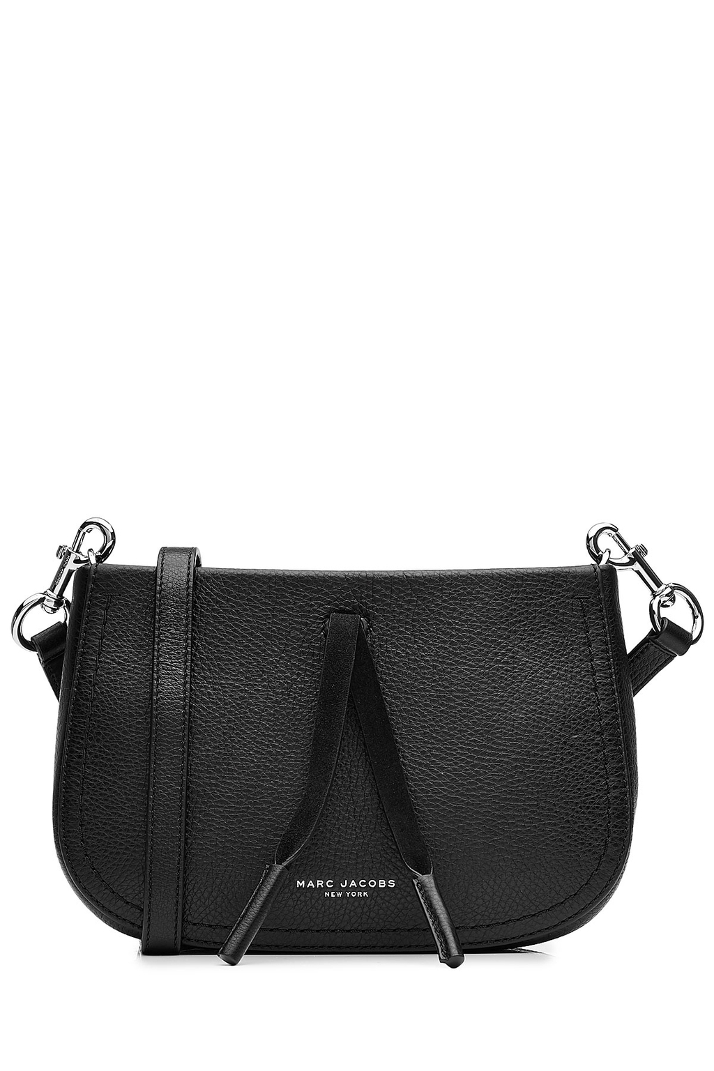 Leather Shoulder Bag Black - predominant colour: black; occasions: casual, creative work; type of pattern: standard; style: shoulder; length: across body/long; size: standard; material: leather; pattern: plain; finish: plain; wardrobe: investment; season: a/w 2016