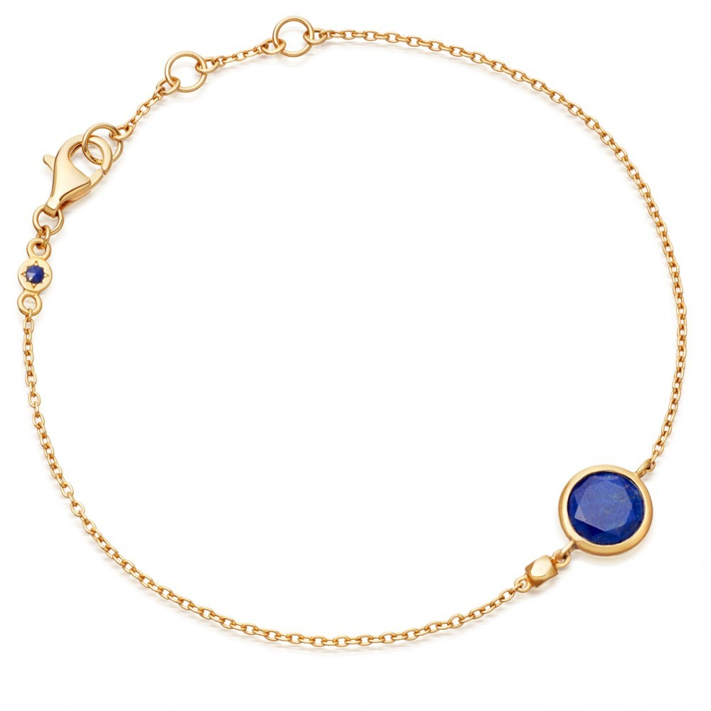 Mini Lapis Round Stilla - predominant colour: gold; occasions: evening; style: chain; size: small/fine; material: chain/metal; finish: metallic; season: a/w 2016; wardrobe: event