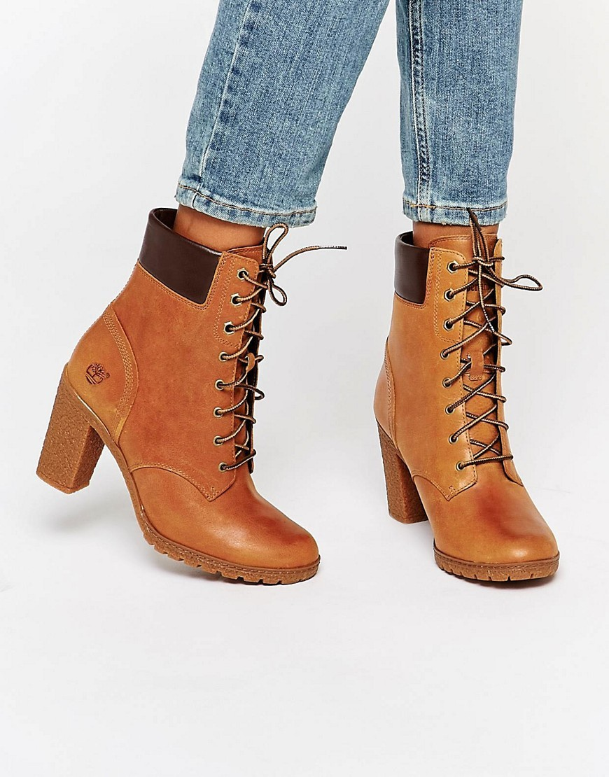 Wheat Rumble Glancy 6 Boot Wheat Rumble - predominant colour: tan; occasions: casual, creative work; material: leather; heel height: high; heel: block; toe: round toe; boot length: ankle boot; style: standard; finish: plain; pattern: plain; season: a/w 2016; wardrobe: highlight