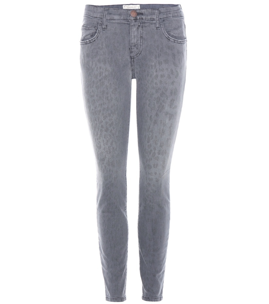 The Stiletto Jeans - style: skinny leg; length: standard; pattern: plain; pocket detail: traditional 5 pocket; waist: mid/regular rise; predominant colour: mid grey; occasions: casual, creative work; fibres: cotton - stretch; texture group: denim; pattern type: fabric; season: a/w 2016; wardrobe: highlight