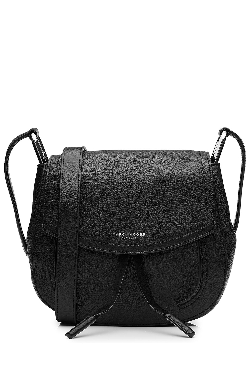 Leather Shoulder Bag Black - predominant colour: black; occasions: casual, work, creative work; type of pattern: standard; style: shoulder; length: across body/long; size: standard; material: leather; pattern: plain; finish: plain; season: a/w 2016