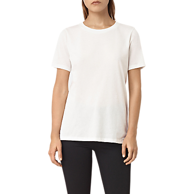Devo T Shirt - pattern: plain; style: t-shirt; predominant colour: ivory/cream; occasions: casual; length: standard; fibres: cotton - mix; fit: body skimming; neckline: crew; sleeve length: short sleeve; sleeve style: standard; texture group: jersey - clingy; pattern type: fabric; wardrobe: basic; season: a/w 2016