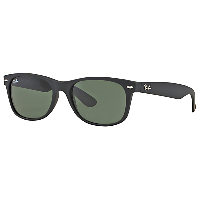 Rb2132 New Wayfarer Sunglasses - predominant colour: black; occasions: casual, holiday; style: d frame; size: standard; material: plastic/rubber; pattern: plain; finish: plain; wardrobe: basic; season: a/w 2016