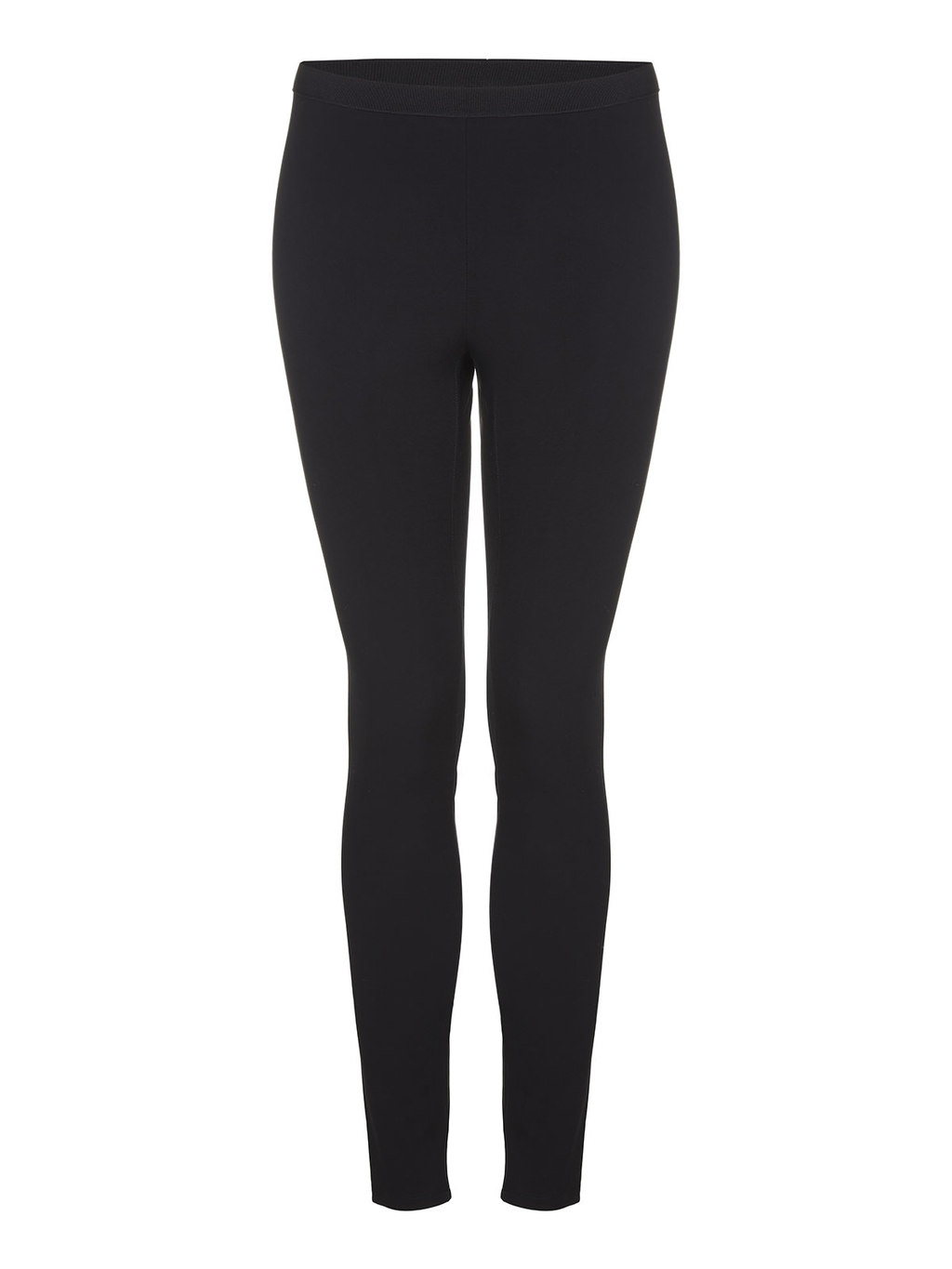 Reflex Leggings - length: standard; pattern: plain; style: leggings; waist: mid/regular rise; predominant colour: black; occasions: casual; fibres: polyester/polyamide - stretch; texture group: jersey - clingy; fit: skinny/tight leg; pattern type: fabric; wardrobe: basic; season: a/w 2016