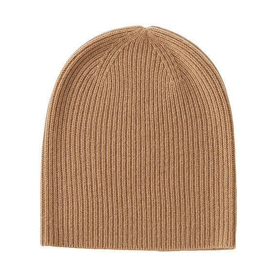 100% Cashmere Beanie (6 Colours) Brown - predominant colour: camel; occasions: casual; type of pattern: standard; style: beanie; size: standard; material: knits; pattern: plain; season: a/w 2016