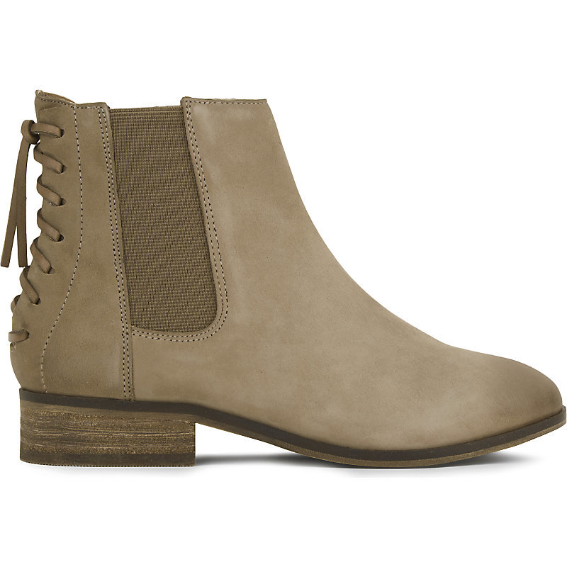 Boudinot Suede Chelsea Boots, Women's, Eur 38 / 5 Uk Women, Medium Brown - predominant colour: light grey; occasions: casual; material: suede; heel height: flat; heel: standard; toe: round toe; boot length: ankle boot; finish: plain; pattern: plain; style: chelsea; wardrobe: basic; season: a/w 2016