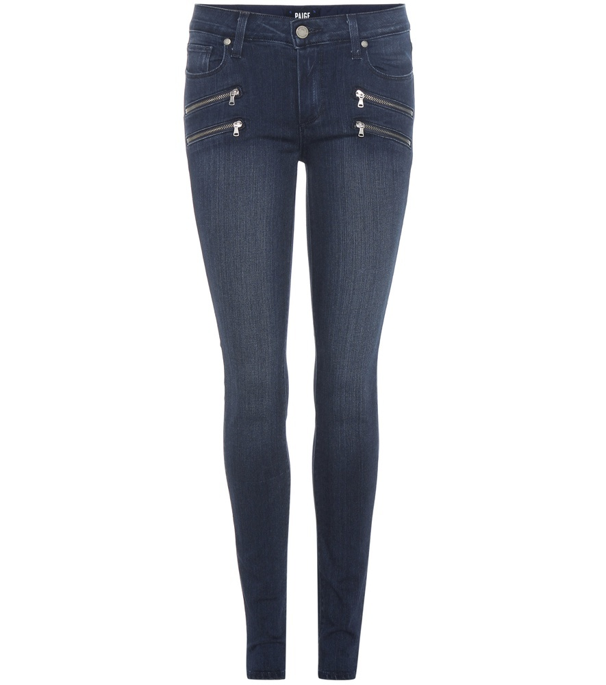 Edgemont Ultra Skinny Jeans - style: skinny leg; length: standard; pattern: plain; pocket detail: traditional 5 pocket; waist: mid/regular rise; predominant colour: navy; occasions: casual, evening, creative work; fibres: cotton - stretch; texture group: denim; pattern type: fabric; season: a/w 2016