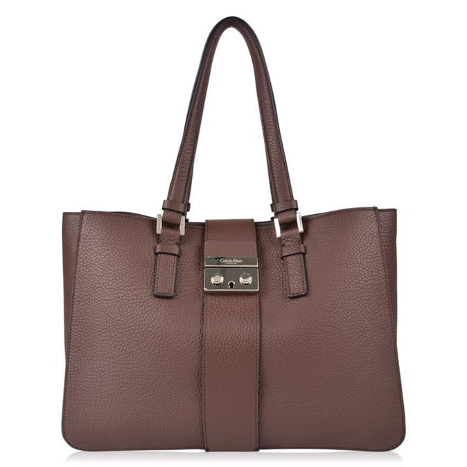 Waverly Bag - predominant colour: chocolate brown; occasions: casual, work, creative work; type of pattern: standard; style: tote; length: shoulder (tucks under arm); size: standard; material: leather; pattern: plain; finish: plain; wardrobe: investment; season: a/w 2016